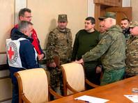 В Карабахе начат процесс обмена телами погибших