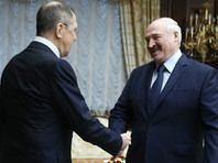 Сергей Лавров и Александр Лукашенко