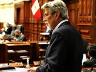 Новый президент Перу и бывший чиновник Всемирного банка Франсиско Сагасти принес во вторник присягу