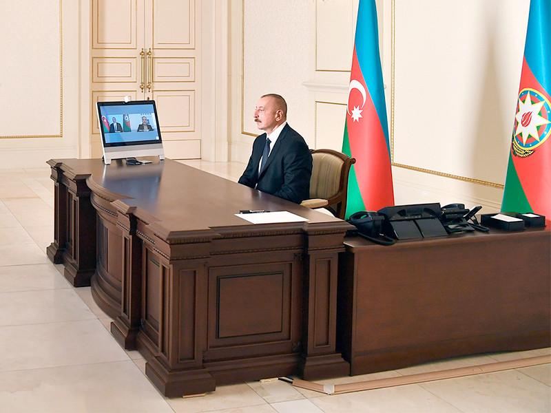 Алиев: азербайджанская армия взяла под контроль город Шуша в Карабахе