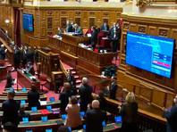 Французский сенат принял резолюцию, призывающую правительство признать самопровозглашенную Нагорно-Карабахскую республику. За принятие резолюции проголосовали 305 сенаторов, один выступил против