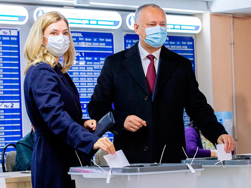 В Молдавии завершилось голосование на выборах президента