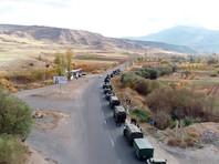 В воскресенье  в  Нагорный Карабах  направились 19 автобусов с возвращающимися беженцами