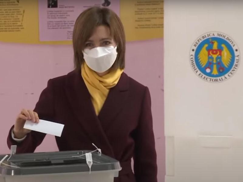 Майя Санду побеждает во втором туре президентских выборов в Молдавии, обходя Додона
