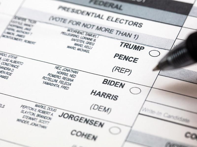 Повторного пересчета голосов в штате Джорджии потребовала команда юристов президента США Дональда Трампа, которая инициировала иски, направленные на пересмотр результатов голосования на президентских выборах