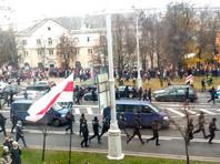 Силовики в Минске разогнали традиционную акцию протеста
