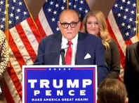 Юристы, работающие на президента США Дональда Трампа и его предвыборный штаб, пришли к выводу, что нарушения, допущенные, по их мнению, демократами на президентских выборах, были хорошо организованы и кем-то координировались. Об этом заявил в четверг личный адвокат главы государства Руди Джулиани