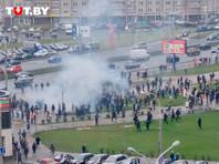 В Минске силовики снова применили спецсредства против демонстрантов