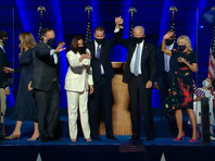 """Байден объявил о своем избрании президентом США. """"Люди нашей страны высказались: они дали нам чистую, убедительную победу"""", - сказал Байден в обращении к нации. """"Я клянусь стать президентом, который будет не разъединять, а объединять,""""- подчеркнул он"""
