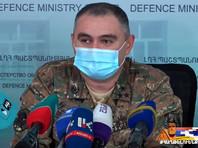 В Нагорном Карабахе погиб заместитель командующего армией НКР