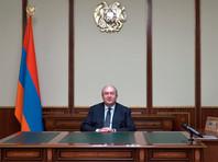 Президент Армении Армен Саркисян назвал неизбежной отставку премьер-министра Никола Пашиняна