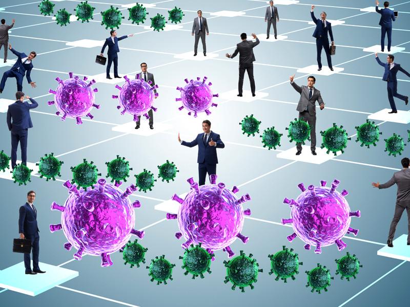 Ученые из Турции выяснили, что количество вирусов SARS-CoV-2 в организме бессимптомных пациентов выше, чем у пациентов с симптомами