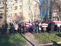 "В отдаленных от центра районах Минска прошел  ""Марш воли"""