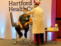 В американском штате Коннектикут началась вакцинация препаратом от COVID-19, произведенным компанией Moderna