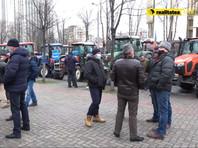 Кишиневские фермеры, вышедшие на акцию протеста с тракторами, выдвинули ультиматум правительству