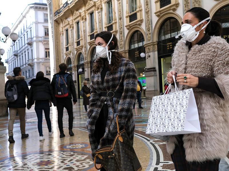 Милан, 25 февраля 2020 года