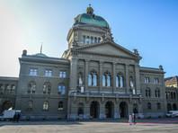 Здание швейцарского парламента в Берне