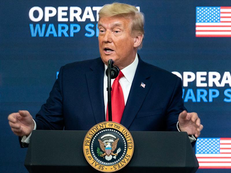Трамп пока не планирует прививаться от коронавируса