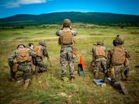 Американские военнослужащие на учениях в Болгарии