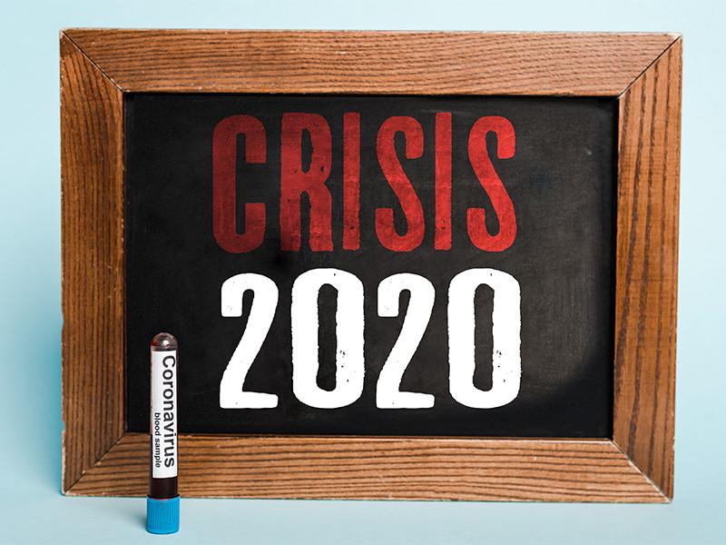 Американский еженедельник Time разместил на обложке нового номера, который выйдет 14 декабря, перечеркнутые цифры 2020, назвав уходящий год худшим