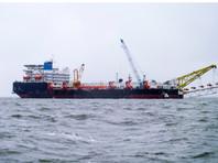 """Баржа """"Фортуна"""", задействованная в строительстве """"Северного потока-2"""", снова сменила владельца"""
