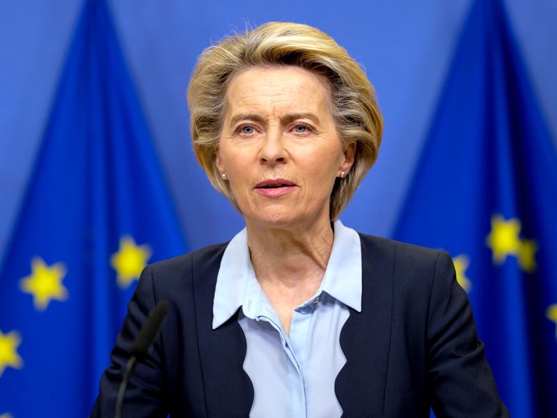 """Глава ЕК заявила, что между ЕС и Лондоном остаются большие разногласия"""" />"""