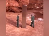 Загадочный металлический монолит найден в пустыне Юты
