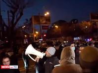 Акция протеста оппозиции в Ереване, 25 декабря 2020 года