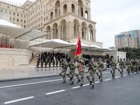 В шествии приняли участие турецкие военные