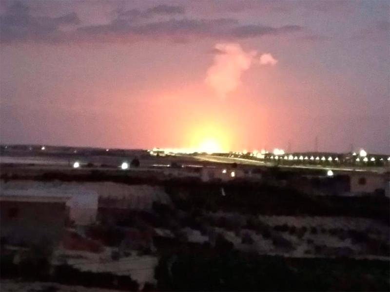 На Синайском полуострове произошел взрыв газопровода