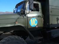 Российские миротворцы сопроводили восемь азербайджанских колонн в Карабахе