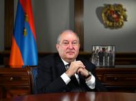 У президента Армении по возвращении из Лондона выявили коронавирус