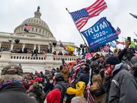 Число погибших во время штурма Капитолия выросло до 5. Начато расследование роли Трампа в беспорядках в Вашингтоне