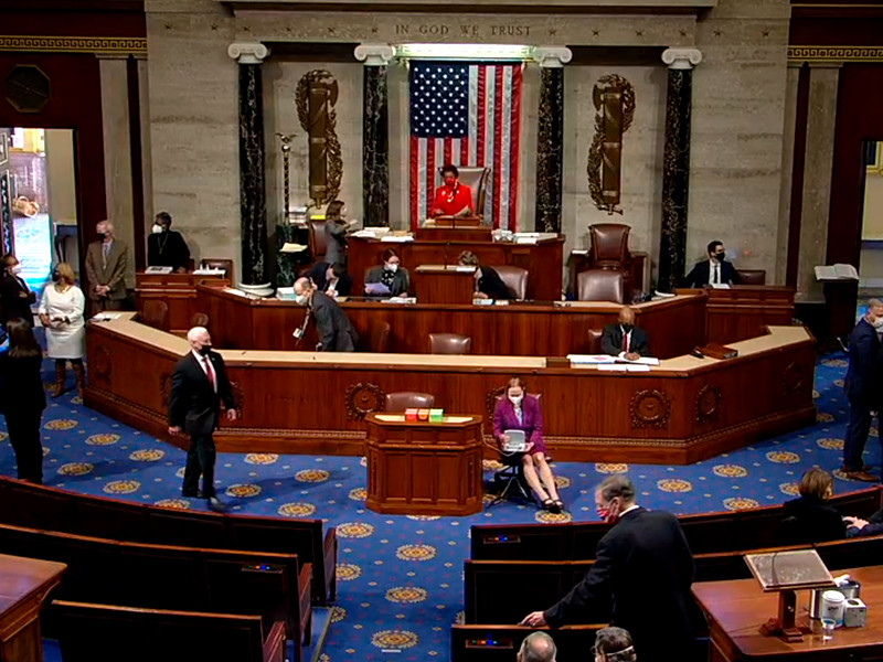 Палата представителей Конгресса США приступила в среду к обсуждению инициативы, направленной на то, чтобы подвергнуть американского президента Дональда Трампа процедуре импичмента во второй раз за время его пребывания у власти