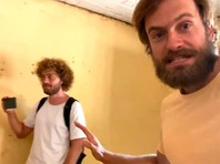 Задержанные в Южном Судане Петр Верзилов (справа) и Илья Варламов