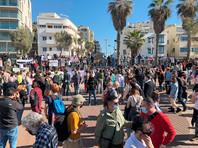 Акция в Тель-Авиве в поддержку Навального стала самой самой массовой среди демонстраций, проводимых в Израиле выходцами из СССР (ВИДЕО)