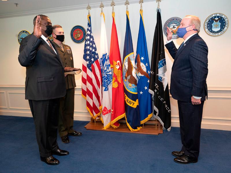 Ллойд Остин приведен к присяге в качестве министра обороны США