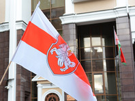 Власти Белоруссии намерены признать экстремистским оппозиционный  бело-красно-белый флаг