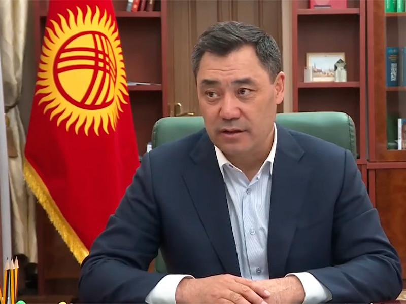 Садыр Жапаров победил на досрочных выборах президента Киргизии