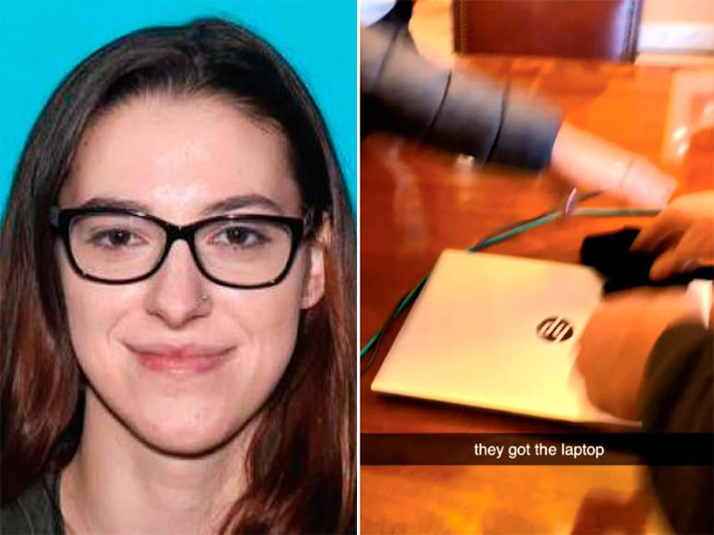 Райли Джун Уильямс, которую подозревают в похищении ноутбука спикера палаты представителей Нэнси Пелоси во время захвата Капитолия, решили отпустить на свободу под залог