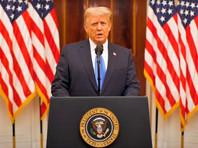 Трамп в прощальной речи к нации назвал себя первым за долгое время президентом, не начавшим новую войну