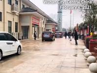 Эксперты ВОЗ в китайском городе Ухань