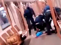 В Брюсселе неизвестный, вооруженный ножом, напал на пассажиров метро