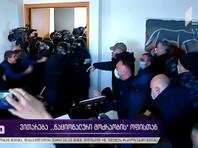 Кадры задержания опубликованы в Youtube-канале Общественного телевидения Грузии