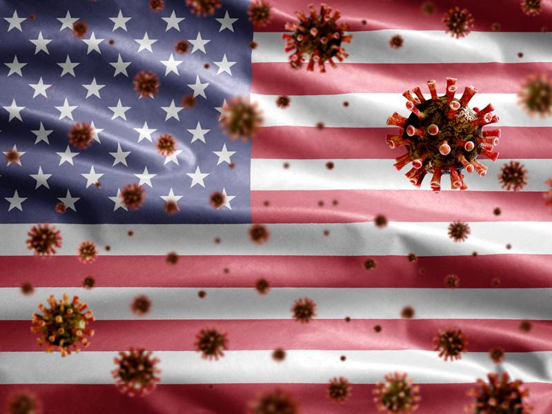 В США число жертв коронавируса приблизилось к 500 тыс. - 498,9 тыс. человек с коронавирусом, следует из данных Университета Джонса Хопкинса