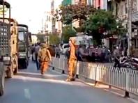 В Мьянме полиция разгоняет протестующих резиновыми пулями