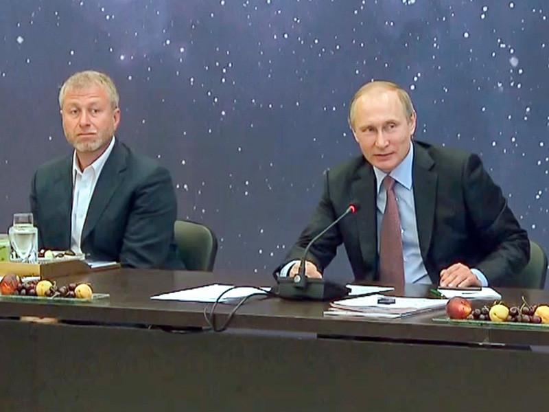 Роман Абрамович и Владимир Путин, 19 июля 2016 года