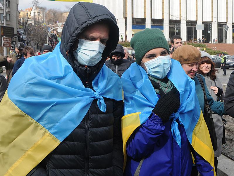 На Украине объявлено о начале третьей волны заболеваемости COVID-19