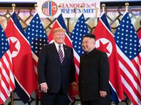 Дональд Трамп и Ким Чен Ын, Ханой, 27 декабря 2019 года