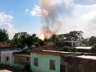 В Венесуэле произошел взрыв на газовом предприятии госкорпорации PDVSA